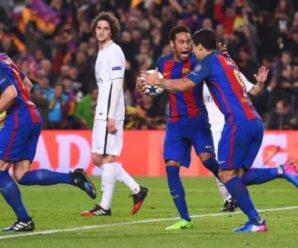 """Сенсація в Лізі чемпіонів: """"Барселона"""" пройшла """"ПСЖ"""" після 0:4 на виїзді"""