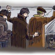 У франківській маршрутці на гарячому затримали кишенькового злодія. ФОТО