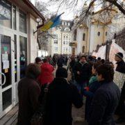 """Прикарпатський нардеп бере участь у """"блокаді"""" Насірова. ФОТО"""