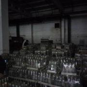 В Івано-Франківську вилучено понад 45 000 пляшок контрафактного алкоголю (фото)