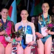 Українська гімнастка завоювала золото на етапі Кубка світу