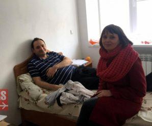 Журналісти таки розшукали міського голову Івано-Франківська в лікарні (фотофакт)