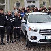 Івано-Франківська обласна федерація футболу отримала автомобіль Ford Kuga та одну тисячу м'ячів (фото)