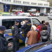У Чехії влаштували облаву та депортували значну кількість українців з польськими візами (ФОТО)