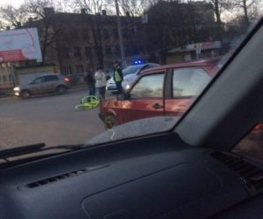 У Франківську автомобіль  збив 15-літнього велосипедиста