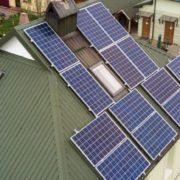 В Івано-Франківську змонтували сонячну електростанцію на 8 кВт. ФОТО