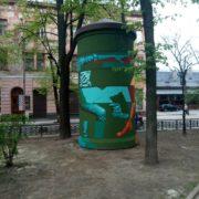 Розвантажувальна підстанція чи витвір мистецтва: у Франківську постав новий арт-об'єкт. ФОТО