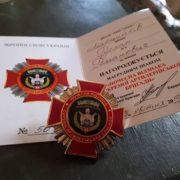 Нагорода знайшла свого героя: мера Марцінківа нагородили в зоні АТО. ФОТОФАКТ