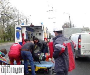 Ранкова ДТП: у Ямниці автівка на переході збила пішохода