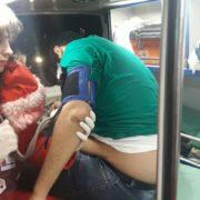 В Івано-Франківську група з десятка молодиків побила іноземця – потерпілий у лікарні. ФОТО