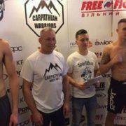 «Чуба злякався»: польський боєць фріфайту не вийшов на ринг проти тернополянина