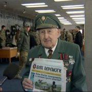 Олександр Сич передплатив для 75-ти ветеранів УПА легендарну газету