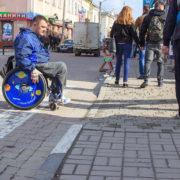 Необмежені можливості або чи пристосоване місто для людей на інвалідних візках