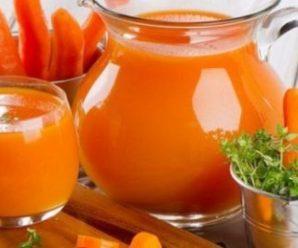 Ця жінка пила морквяний сік щоранку протягом 8 місяців, а потім сталося неймовірне! Реальна історія!