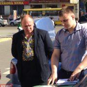 Стали відомими деякі подробиці затримання сьогодні у Івано-Франківську чиновника на хабарі (фото)