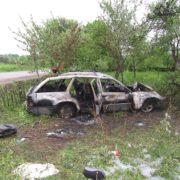 У трагічній ДТП на Коломийщині загинула дівчина-водій, а пасажирка потрапила до лікарні (фото)