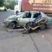 У вчорашній ДТП, яка трапилася на «Пасічній», за участі неповнолітнього «байкера», винуватим виявився водій «таврії» (фото)