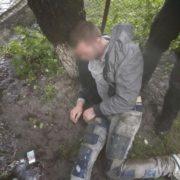 У Франківську п'яний грабіжник, тікаючи від патрульних, вдарився головою у дерево