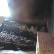 У вогні загинув прикарпатець