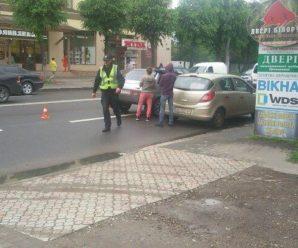 """Голова БО """"Дім Сірка"""" потрапила у ДТП на Галицькій. ФОТО"""