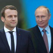 Путін з Макроном поговорили про Україну: відомі деталі