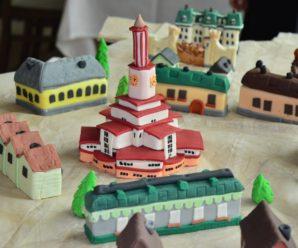 150-кілограмовий унікальний святковий торт виставили біля Ратуші (фото)
