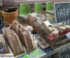 У Франківську на святі вуличної музики учасник «Пекельної кухні» скуштував здорову їжу, а директор ЦСМ розмалювала обличчя