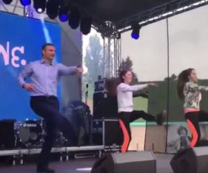 """""""Віталій запалює"""" – танці Кличка підкорили мережу (відео)"""