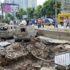 Потрощені будинок й автівки: у Києві стався масштабний прорив труби (фото)