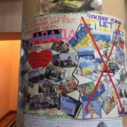 Школярі в ДНР висловили ненависть до України в своїх малюнках