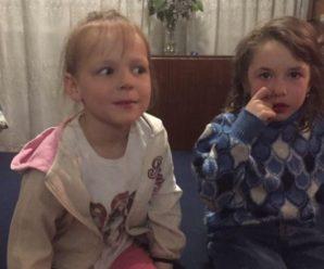 Вони ще не зрозуміли, що відбулось: Ось дівчатка, яких бойовики в одну мить залишили сиротами, їм 6 та 7 років