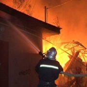 Пожежа у Франківську: горів житловий будинок. ВІДЕО
