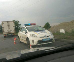 Ранкове ДТП на Набережній: Один із водіїв втік з місця аварії, загубивши документи
