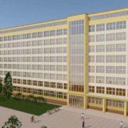 В Прикарпатському університеті показали, як буде виглядати гуманітарний корпус після ремонту. ФОТО