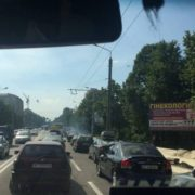 В Івано-Франківську ускладнений рух у напрямку мікрорайону Пасічної (фото)