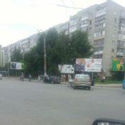 ДТП на «Позитроні» зіткнулося два автомобіля (фото)