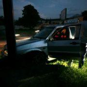 Ще одна ДТП у Франківську: водій на шаленій швидкості не вписався в поворот. ФОТО