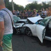 Подробиці ДТП на Івасюка: всі четверо патрульних були п'яні (відео)