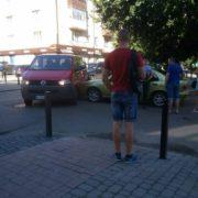 ДТП у Франківську: на Бельведерській зіткнулися дві автівки. ФОТОФАКТ