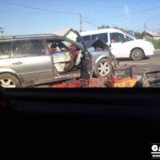 Ранкова ДТП у Крихівцях з травмованими: розбиті дві машини, рух ускладнений (ФОТО)