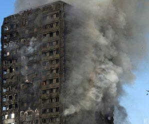 У Лондоні чоловік упіймав дитину, яку скинули з десятого поверху палаючої будівлі