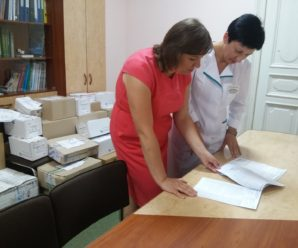 Першу партію ліків цього року дитяча лікарня Івано-Франківська отримала від ПриватБанку