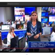 Під час прямої лінії з Путіним на екрані несподівано з'явилися «незручні» питання