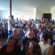 У Драгомирчанах депутати під тиском громади скасували своє рішення про дерибан 3 га землі. ВІДЕО