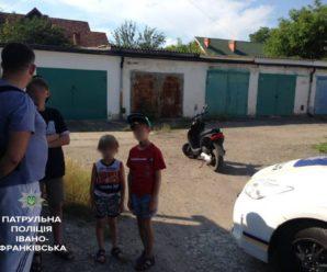 Франківець отримав постанову від патрульних за передачу керування неповнолітнім дітям