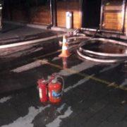 В центрі Франківська сталось загорання в нічному клубі (фото, відео)