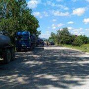На Прикарпатті мешканці перекривали дорогу