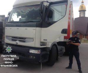 """Франківські копи оштрафували водіїв фур цирку """"Кобзов"""" (фото)"""
