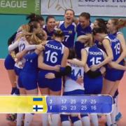 Золотий дубль: у Франківську збірна України з волейболу виграла фінал жіночої Євроліги. ВІДЕО
