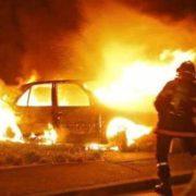 """""""Гаряча"""" неділя: на Івано-Франківщині згоріли дві автівки, квартира, літній майданчик та адмінбудівля"""
